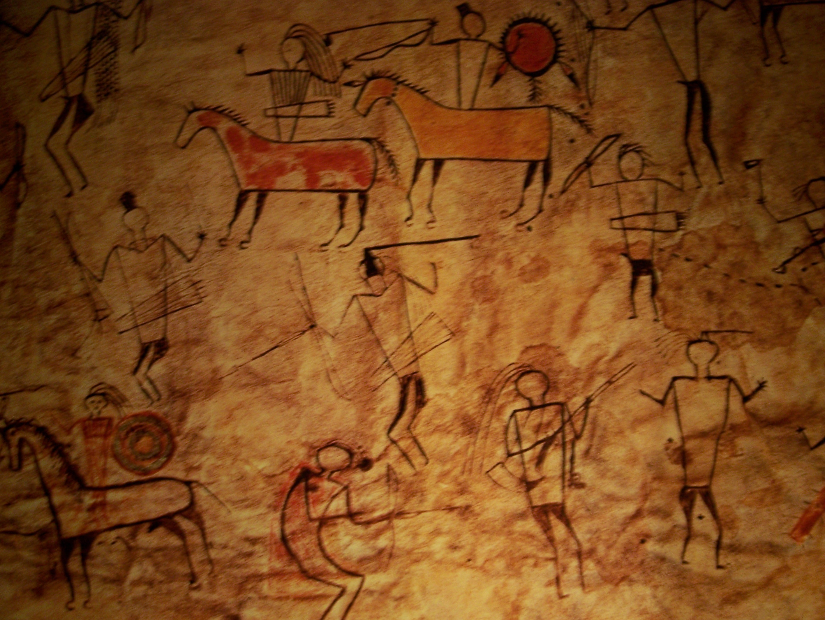 Caveman Artist : Caveman cave drawing pixshark images galleries